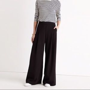 Madewell Caldwell Pull-On Trousers Black E4257